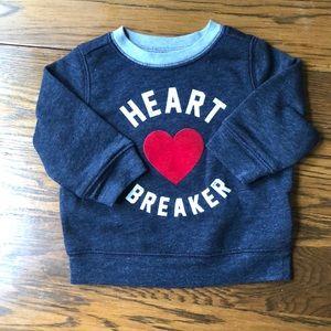 Old Navy Heartbreaker Sweatshirt